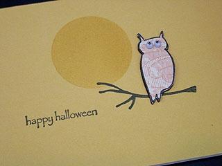 Impress staff owl card