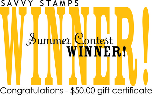 SAVVY WINNER summer card contest 2010