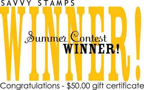 SAVVY WINNER summer card contest 2010