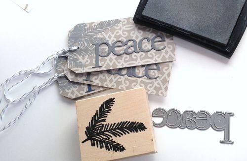 Peace tag 2