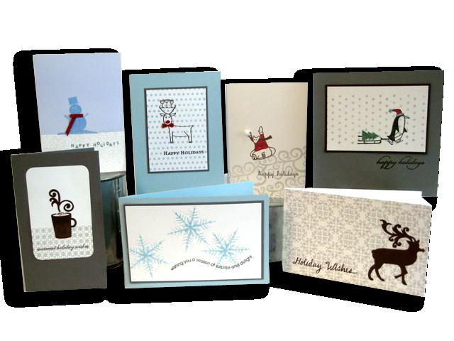 Blue & Gray Holiday Display Board