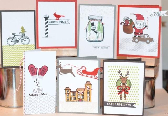 Holiday stamp board 2012