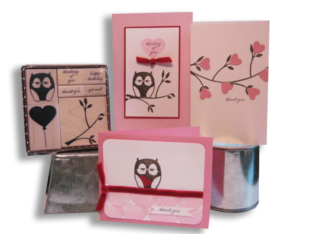 Owl Card Kit of the Month